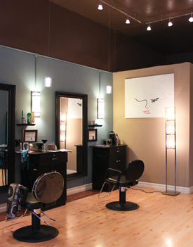 The Looking Glass Salon helps you pick the best color and cut for your face and style