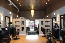 The Looking Glass Salon is professional, affordable and has many great reviews